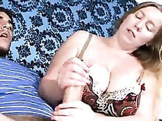 Close Up Cumshot Handjob MILF
