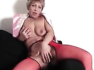 Blonde Fingering Masturbation Mature Pussy Solo Squirting