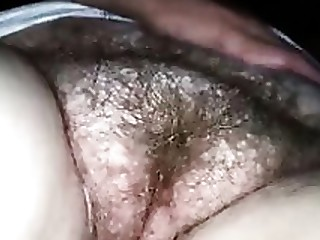 Amateur Close Up Fingering Hairy MILF Pussy