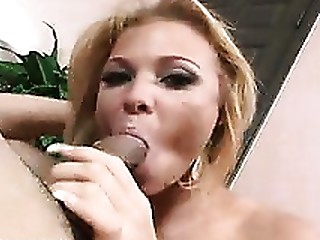 Blonde Blowjob Deepthroat MILF Oral