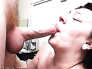 Blowjob Brunette Big Cock BBW Lactation Mature