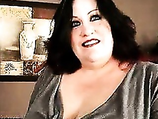 Brunette Big Cock BBW Mature Monster