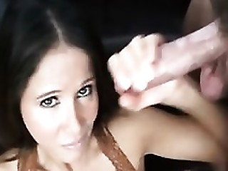 Blowjob Brunette Jerking Mammy MILF