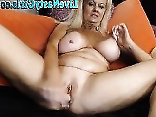 Blonde Boobs Granny Mature Pussy
