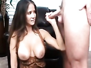 Brunette Jerking Mammy Masturbation MILF Nylon Teacher