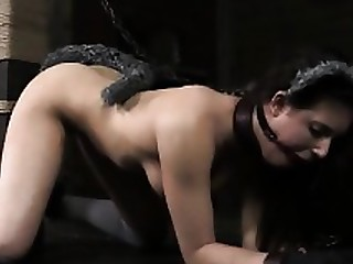 BDSM Brunette Domination Fetish MILF Mouthful Toys