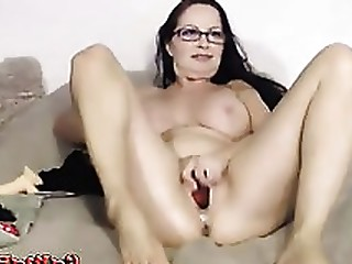 Amateur Ass Brunette Glasses Juicy Little Masturbation Mature