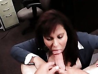 Ass Blowjob Boobs Brunette Cash Fuck MILF Public