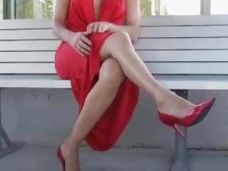 Ass Fetish Foot Fetish High Heels Mammy Masturbation MILF Public