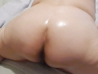BBW Fatty Mammy Mature MILF Oil