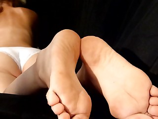 Amateur Blonde Cum Cumshot Feet Foot Fetish Footjob Handjob