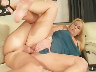 Big Tits Blonde Blowjob Mammy MILF Old and Young Pornstar Teen