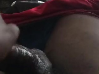 Black Boss Big Cock Ebony Handjob Masturbation Mature