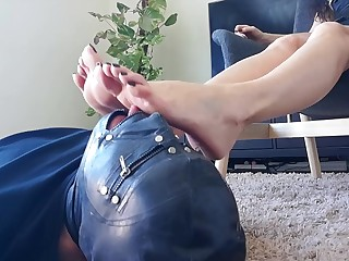 Amateur Brunette Feet Fetish Foot Fetish Homemade Licking MILF