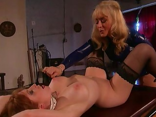 Big Tits Blonde Domination Fetish High Heels Lesbian Mammy Natural