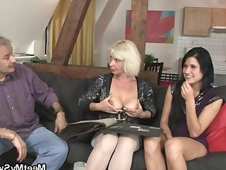 Blowjob Mammy Mature Old and Young Really Stocking Sweet Teen