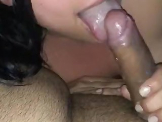 Blowjob Brunette Deepthroat MILF Oral POV