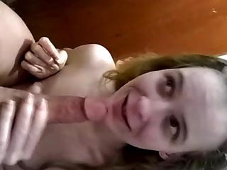 Amateur Babe Bathroom Blonde Blowjob Cum Cumshot Friends