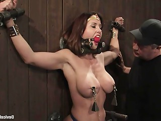 Big Tits Boobs Brunette Dolly Fetish MILF Nipples Orgasm