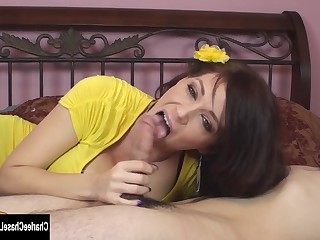 Big Tits Blowjob Boobs Brunette Big Cock Cumshot Deepthroat Dress