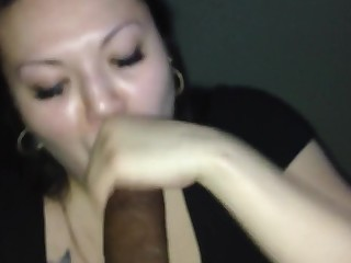 Amateur Blowjob Cumshot Deepthroat BBW Fatty Hot MILF
