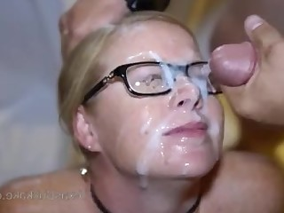 Amateur Bukkake Cum Cumshot Facials Gang Bang Hot Mammy