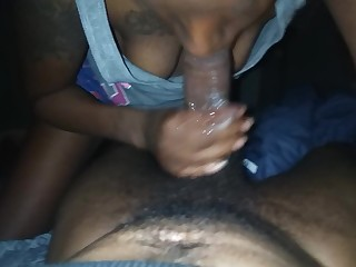 Blowjob Cumshot Deepthroat Ebony Handjob Mature Oral