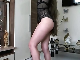 Amateur Babe Brunette Fetish Juicy Mammy MILF Playing