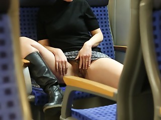 Foot Fetish Hairy Kiss Kitty Masturbation MILF Oil Outdoor