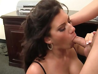 Big Tits Blowjob Boss Brunette Big Cock Cougar Doggy Style Dolly