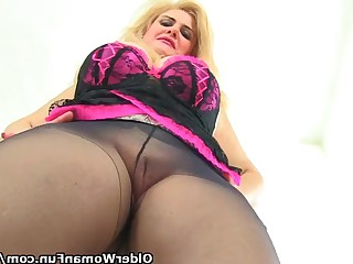 Ass Dildo Fetish Granny Mammy Mature MILF Nylon