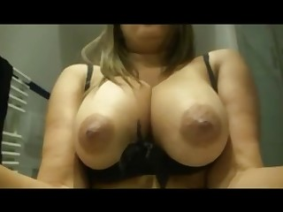 Amateur Babe Big Tits Boobs Brunette Close Up Homemade Hot